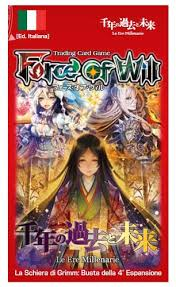 Bustina Force of Will: Le Ere Millenarie… EasyShop